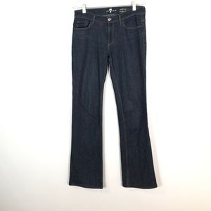 7 For All Mankind Midrise Bootcut Jeans   Size: 29